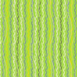 Color Splash - Lime Leafy Ribbons