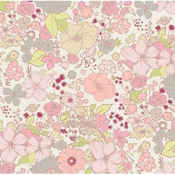 Coquette - Fashion Scent Peach - by Patricia Bravo for Art Gallery Quilts