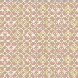Coquette - Mod Rings Terra - by Patricia Bravo for Art Gallery Quilts