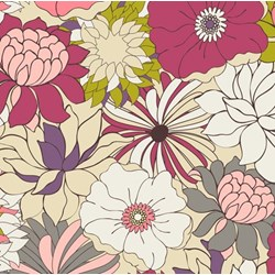 Coquette - Flower Bed Blush - by Patricia Bravo for Art Gallery Quilts