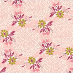 "40"" End of Bold Piece - Coquette - Feminine Flair Petal - by Patricia Bravo for Art Gallery Quilts"
