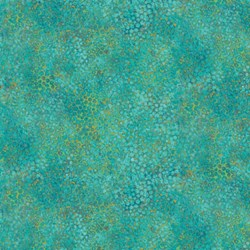 Shimmer Peacock - Teal - by Deborah Edwards for Artisan Spirit of Northcott Studio