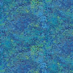 Shimmer Blue Lagoon - Royal - by Deborah Edwards for Artisan Spirit of Northcott Studio