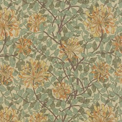 Best of Morris - Floral Print - by Barbara Brackman for MODA