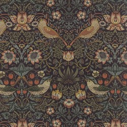 Best of Morris - Large Floral/Bird Print - by Barbara Brackman for MODA