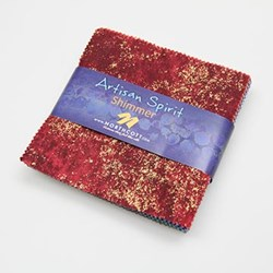 Artisan Shimmer 63 Multi Color piece Charm Pack
