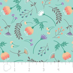 "14"" Remnant - Make a Wish by Camelot Fabrics-On the breeze in Aqua"