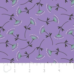 "17"" Remnant - Make a Wish by Camelot Fabrics-Mimosa in Lilac"