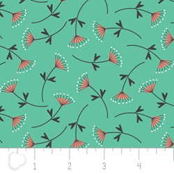"13"" Remnant - Make a Wish by Camelot Fabrics-Mimosa in Spearmint"
