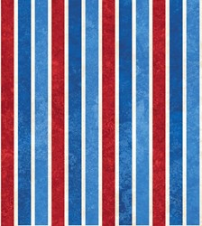Stonehenge Celebration - RWB Stripes- by Deborah Edwards for Northcott Studio