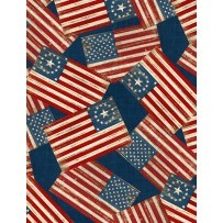 Colors of Freedom by Jennifer Pugh for Wilmington-Flag