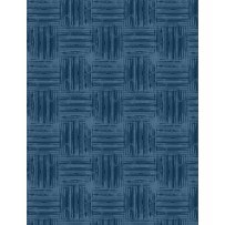 Colors of Freedom by Jennifer Pugh for Wilmington-Blue Basket Weave