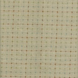 Pireued Fat Quarter - Tan Dot Woven - Daiwabo Taupes