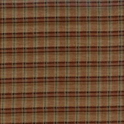 Pireued Fat Quarter - Red , Brown, Black Plaid Woven - Daiwabo Taupes