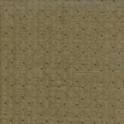 Pireued Fat Quarter - Dark Brown Dot Woven - Daiwabo Taupes