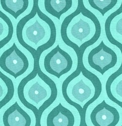 Olive Rose - Emerald Geometrics Quilting Fabric