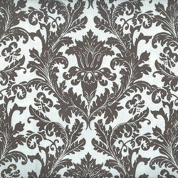 Holly Jolly - Damask in Gray and White - by Jen Allyson of My Mind's Eye for Riley Blake Fabrics