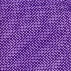 Island Batik Screen Print - Purple Diamonds/Reverse