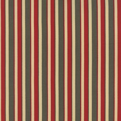 La Fete de Noel - Fern Rouge Nannette Stripe - by French General for MODA