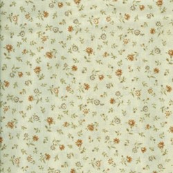 Mrs. March's Basics - Mini Floral on Cream - Lecien