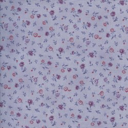 Mrs. March's Basics - Mini Floral on Purple - Lecien