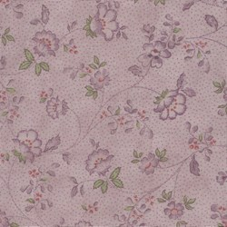 Mrs. March's Basics - Small Floral on Lavendar - Lecien