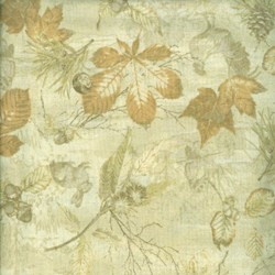 Mrs. March's Collection - Autumn Forest - Large Maple Leaves - Lecien