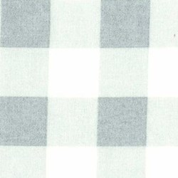 Durham Quilt Collection Anew Fat Quarter - Blue Plaid with White/Cream - by Brenda Riddle for Lecien