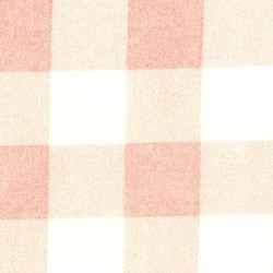 "END OF BOLT - 39"" - Lecien Durham Quilt Collection Anew - Light Pink Plaid with White/Cream - by Brenda Riddle for Lecien"