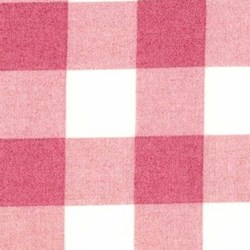 Durham Quilt Collection Anew Fat Quarter - Pink Plaid with White/Cream - by Brenda Riddle for Lecien