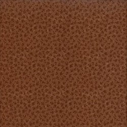 Quilters Basic Fat Quarter - Milk Chocolate Brown Tonal Mini Floral - Lecien