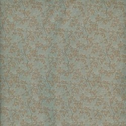 Lecien - Mrs. March Fabric Pale Blue - Small Vine Print