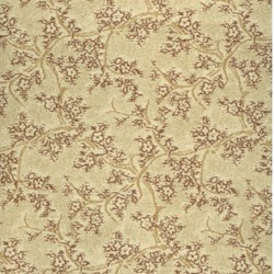 Lecien - Mrs. March Fabric Tan - Small Vine Print