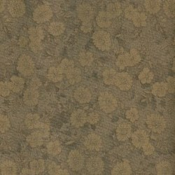 Lecien - Mrs. March Fat Quarter - Brown - Tonal Floral