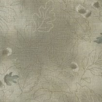Lecien - Mrs. March Fat Quarter - Grey - Acorns