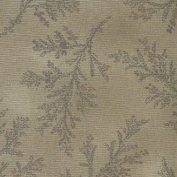 Lecien - Mrs. March Fabric - Smoky Plum - Tonal Leaf