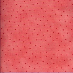 Lecien - Floral Collection Fat Quarter - Rose Tonal Dot