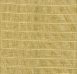 Fancy Woven Cotton Stripe Beige with Silver Threading - Marcus Brothers