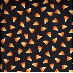"9"" Remnant --Halloween Class - Candy Corn on Black - Maywood Studios"