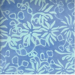 Summer Breeze - Blue - by Batiks by Mirah Zriya
