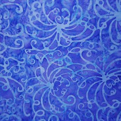 Winter Garden Collection Persian Jewel Swirls by Batiks by Mirah Zriya