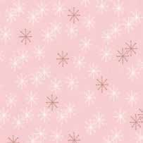 "34"" Remnant - Mistletoe Lane - Lotus Snow Flakes - by Bunny Hill Designs"
