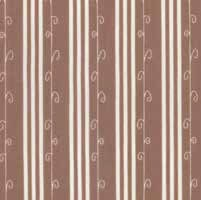 "End of Bolt - 44"" - Mistletoe Lane - Wood Smoke Stripe - by Bunny Hill Designs"