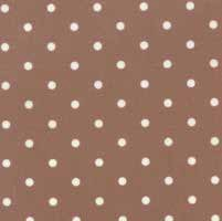 "17"" Remnant - Mistletoe Lane - Wood Smoke Dots - by Bunny Hill Designs"