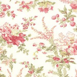 Whitewashed Cottage - Floral <br>by 3 Sisters for Moda