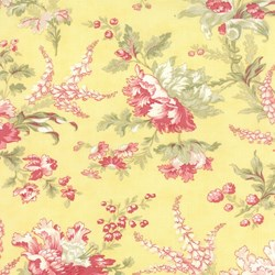 Whitewashed Cottage - Yellow Floral by 3 Sisters for Moda