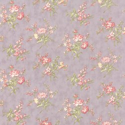 Whitewashed Cottage - Heather Floral <br>by 3 Sisters for Moda