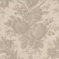Oasis - Large Floral Tonal in Slate - by 3 Sisters for MODA