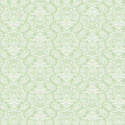 Once Upon A Time Green Lace Print by Deborah Edwards for Northcott Studios