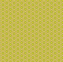 Oval Elements - Chartreuse